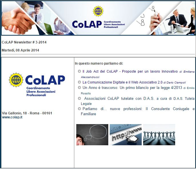 COLAP NEWSLETTER # 3-2014